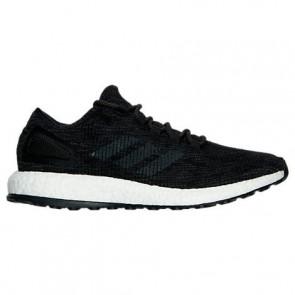Homme Adidas Pure Boost Chaussures de course Core Noir, Gris foncé Heather BA8899