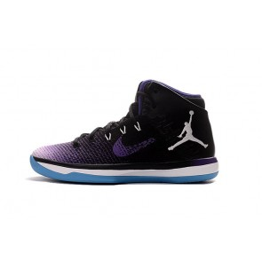 Nike Air Jordan XXXI J31 Hommes Chaussures de running Violet, Noir, Bleu