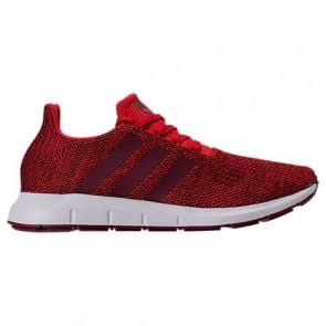 Hommes Rouge / Collégial Burgundy / Blanc Adidas Swift Run Chaussures de course CG4117