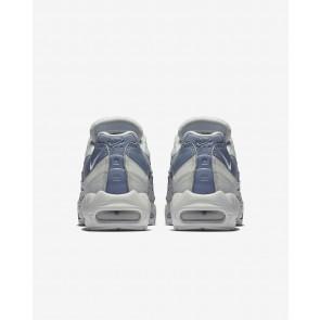 Hommes Nike Air Max 95 Essential chaussures 749766-036 Dans Pur Platine/Cendré Ardoise/blanc