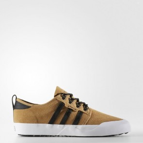 Mesa / Core Noir / Blanc Adidas Originals Seeley Homme Chaussures BY4106