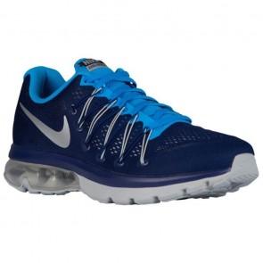 Nike Air Max Excellerate 5 Hommes Royal Bleu / Lueur bleu / Argent métallique Chaussures 52692400