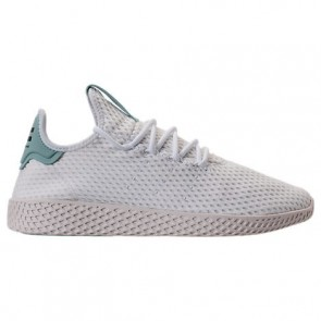 Chaussure Hommes Adidas Originals Pharrell Williams Tennis HU Blanc, Vert BY8716