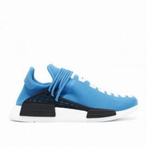 Aqua Noir / Blanc Adidas NMD Human Race Hommes Chaussures de course