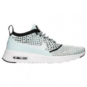 Glacier Bleu / Blanc / Noir Femme Nike Air Max Thea Ultra Flyknit Chaussures de course 881175 400