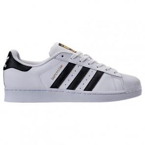 Homme Adidas Superstar Chaussures Blanc / Noir / Doré C77124