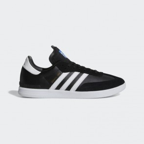 Homme Adidas Originals Samba ADV Chaussures Core Noir, Running Blanc, Oiseau bleu BY3928