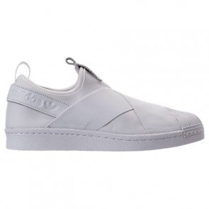 Femmes Blanc Adidas Originals Superstar Slip-On Chaussure S81338