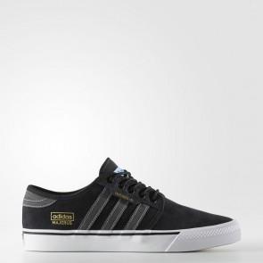 Chaussures de course Adidas Originals Seeley OG ADV Homme Core Noir, Gris solide, Blanc CG4276