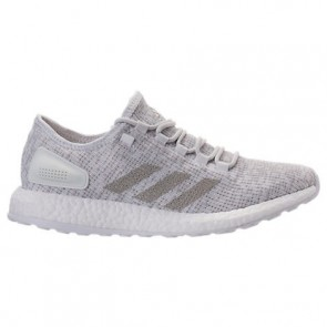 Adidas Pure Boost Hommes Chaussures Blanc, Cristal Blanc S81991