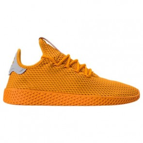Hommes Adidas Originals Pharrell Williams Tennis HU Chaussures de course Or collégial CP9767