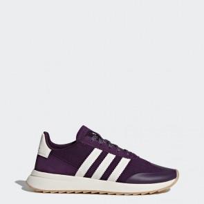 Femmes Adidas Originals Flashback Chaussures de course Rouge, Héritage blanc BY9302