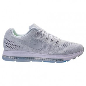 (Blanc / Platine pure) Femmes Nike Zoom All Out Low Chaussures 878671 101