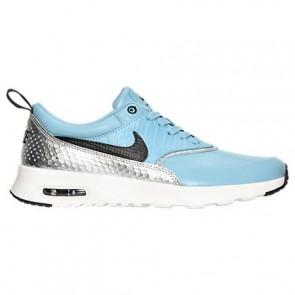 Femme Nike Air Max Thea LX Mica Bleu / Noir / Argent métallique Chaussures 881203 400