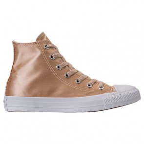 Parchemin Converse Femme Chuck Taylor Hi Satin Chaussures 557940C 247