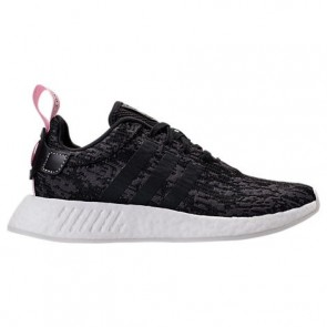 Adidas NMD R2 Femme Chaussures Noir, Rose BY9314
