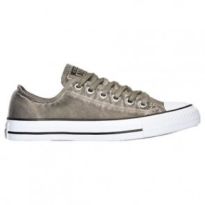Chaussures Converse Chuck Taylor OX Olive / Sous-marin / Noir / Blanc Femme 155392C GRN