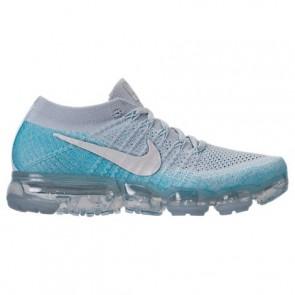 Platine pure / Glacier Bleu Nike Air VaporMax Flyknit Femme Chaussures 849557 014