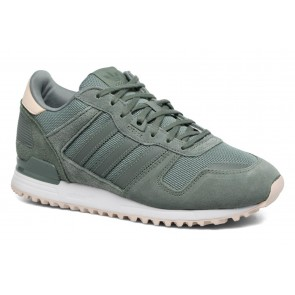 Femme Adidas Originals ZX 700 W Low Rise Chaussures de running Vert