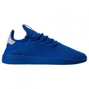 Bleu Hommes Adidas Originals Pharrell Williams Tennis HU Chaussures CP9766