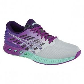 Asics Femmes Fuzex Chaussures de course Argent, Pourpre