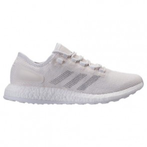 Chaussures de course Adidas Pure Boost Clima Hommes Blanc / Gris clair / Craie Blanc BA9058