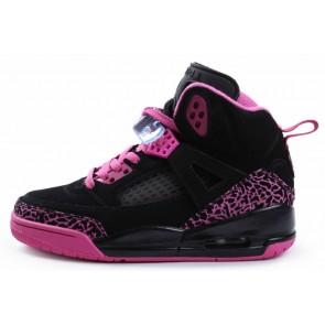 Femmes Air Jordan 3 Chaussures de course - Noir Rose Rouge