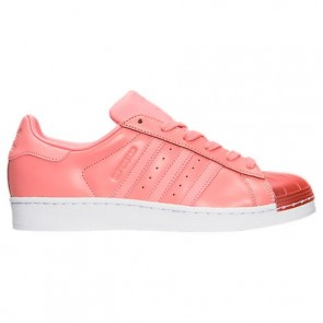 Femmes Adidas Superstar Metal Toe Tactile Rose / Blanc Chaussures BY9750