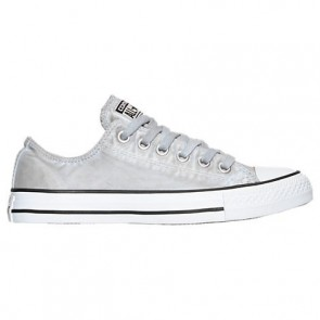 Converse Chuck Taylor OX - Femme Dolphin / Noir / Blanc Chaussures 155391C GRY