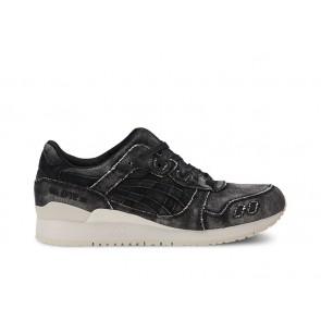 Asics GEL-Lyte III Noir / Noir Femme Chaussures de course