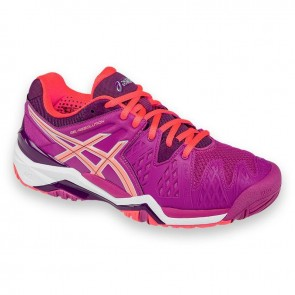 Chaussures de tennis Asics Gel Resolution 6 Femmes Berry / Corail / Plum