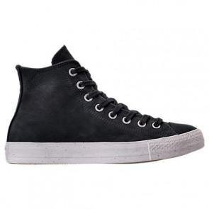 Converse Hommes Chuck Taylor All-Star OX Nubuck Chaussures 157524C Noir, Blanc
