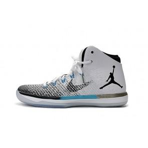 Nike Air Jordan 31 Chaussure de basketball Femmes J31 Noir, Blanc, Jade