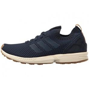 Hommes Adidas Originals ZX Flux Primeknit Chaussures Marine collégiale / Marine collégiale / Gomme