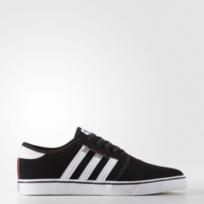 Core Noir, Blanc, Cramoisi Homme Adidas Originals Seeley Chaussures BY4007