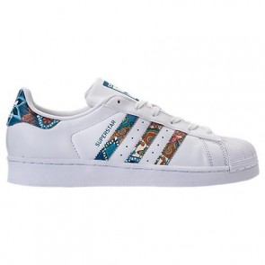 Adidas Superstar Femme Chaussures de course Blanc / Noble Teal BY9177