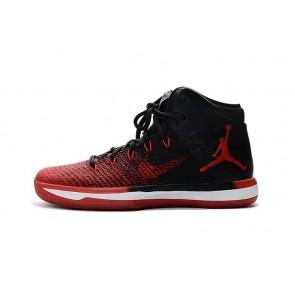 Noir et Rouge Nike Air Jordan 31 Femmes Chaussure de basketball