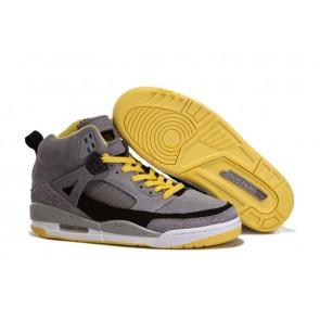 Homme Chaussures de sport Air Jordan 3 Moon Jaune / Gris acier
