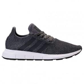 Gris / Core Noir / Blanc Hommes Adidas Swift Run Chaussures de course CG4116