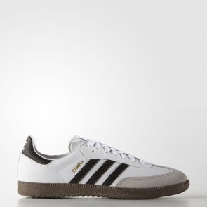 Hommes Adidas Originals Samba Blanc Chaussures de course G17102