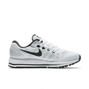 Blanc / Noir / Platine pure Hommes Nike Air Zoom Vomero 12 Chaussures de course 863762-100