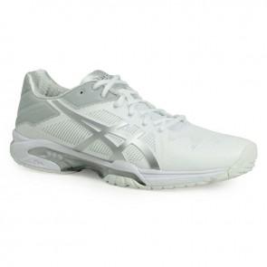 Asics Gel Solution Speed 3 Chaussures de sport Femmes Blanc, Argent