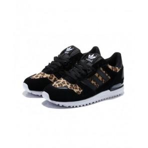Core Noir, Léopard, Blanc Adidas Originals ZX 700 Femmes Chaussures