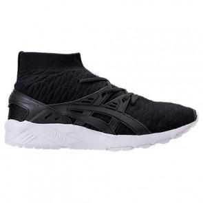 Noir / Noir Asics Gel-Kayano Trainer Knit Hi Hommes Chaussures de course H7P4N 909