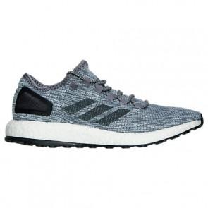 Hommes Chaussures Adidas Pure Boost Gris / Gris foncé Heather / Gris clair BA8900