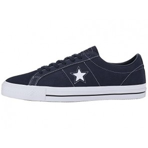 Converse Skate One Star Pro OX Hommes Chaussures de course Obsidienne / Obsidienne / Blanc