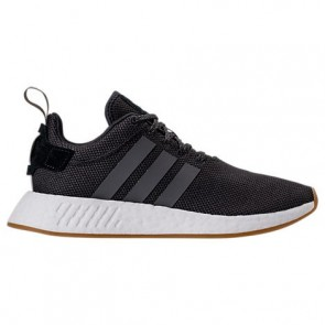 Homme Adidas NMD R2 Core Noir, Utilitaire Noir, Rose choc Chaussures BY9917