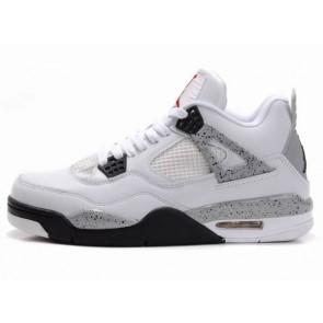 Air Jordan Air 4 (IV) Retro 1999 Hommes Chaussures - Blanc et Noir
