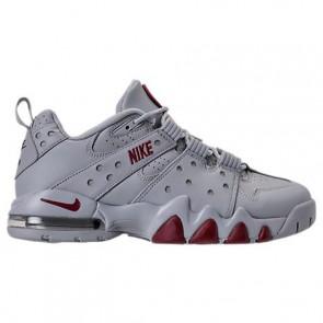 Chaussure de basketball Nike Air Max CB '94 Low Hommes 917752 002 Wolf Gris / Rouge / Argent métallique