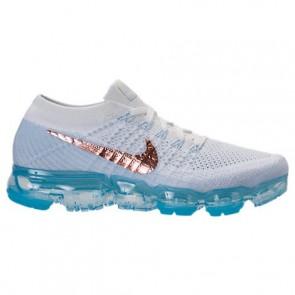 Nike Air VaporMax Flyknit Femmes 849557 104 Sommet blanc / Hydrogen Chaussures de course